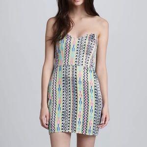 Parker embellished sequin mini dress